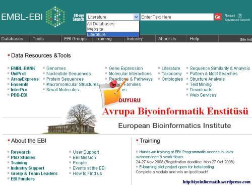 Avrupa Biyoinformatik Enstitüsü